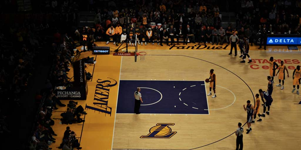 apostas esportivas Lakers NBA